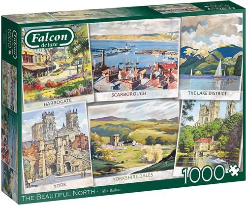 Falcon - The Beautiful North Puzzel (1000 stukjes)