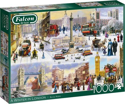 A Winter in London Puzzel (1000 stukjes)