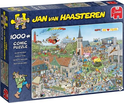 Jan van Haasteren - Rondje Texel (1000 stukjes)