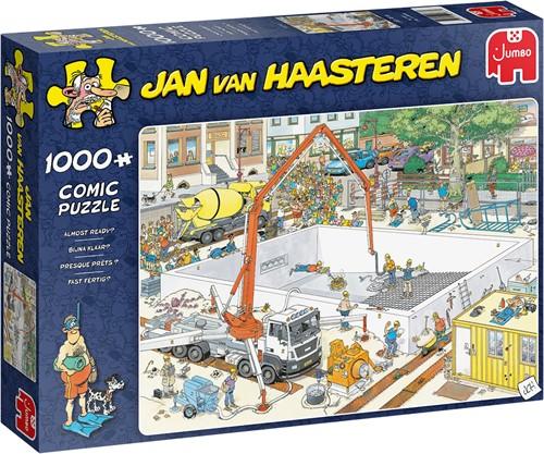 Jan van Haasteren - Bijna klaar? Puzzel (1000 stukjes)