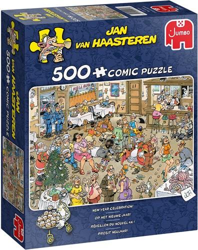 Jan van Haasteren - Op het nieuwe jaar! (500 stukjes)