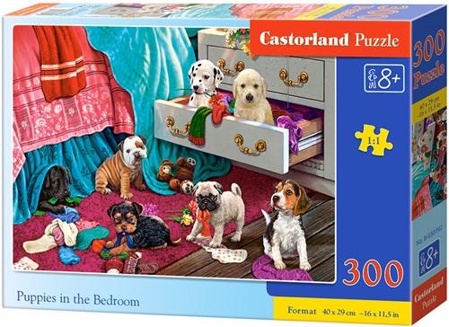 Puppies in the Bedroom Puzzel (300 stukjes)