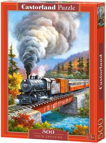 Train Crossing Puzzel (500 stukjes)