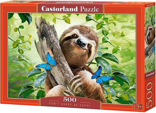 Don't Hurry Be Happy Puzzel (500 stukjes)