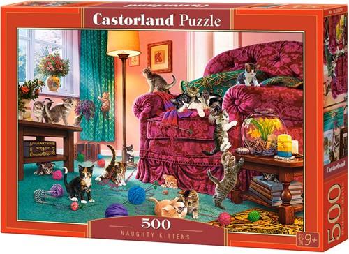 Naughty Kittens Puzzel (500 stukjes)