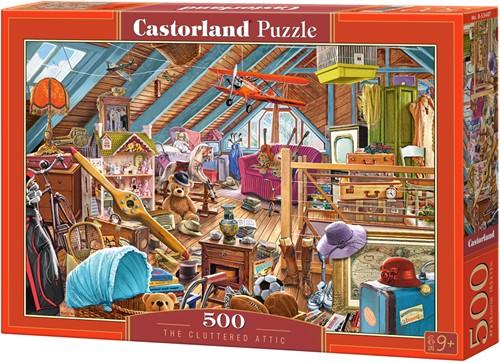 The Cluttered Attic Puzzel (500 stukjes)