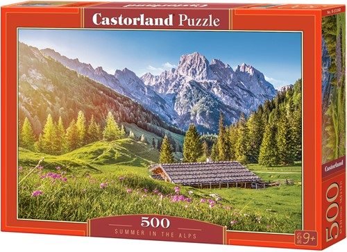 Summer in the Alps Puzzel (500 stukjes)