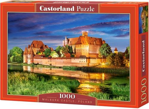 Malbork Castle, Poland Puzzel (1000 stukjes)