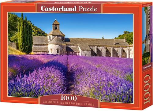 Lavender Field in Provence, France Puzzel (1000 stukjes)