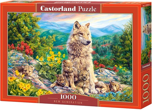 New Generation Puzzel (1000 stukjes)