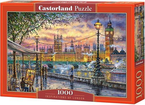 Inspirations of London Puzzel (1000 stukjes)