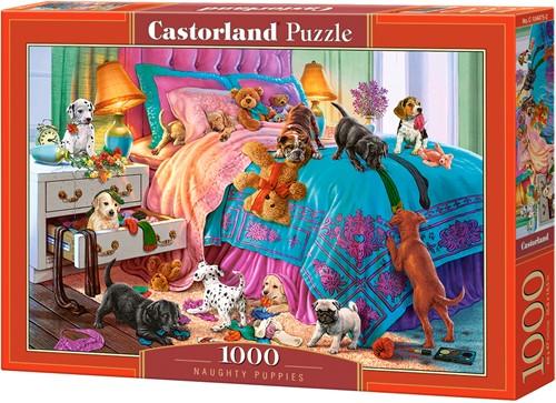 Naughty Puppies Puzzel (1000 stukjes)