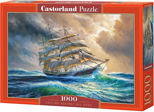 Sailing Against All Odds Puzzel (1000 stukjes)