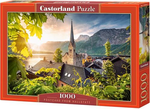 Postcard from Hallstatt Puzzel (1000 stukjes)