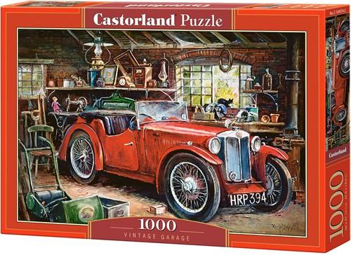 Vintage Garage Puzzel (1000 stukjes)
