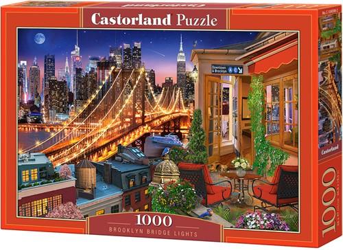 Brooklyn Bridge Lights Puzzel (1000 stukjes)