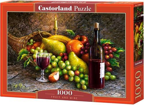 Fruit and Wine Puzzel (1000 stukjes)