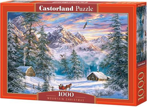 Mountain Christmas Puzzel (1000 stukjes)