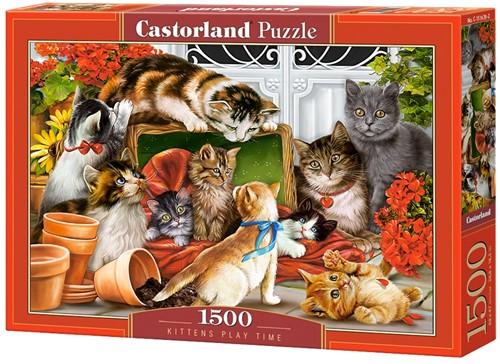 Kittens Play Time Puzzel (1500 stukjes)