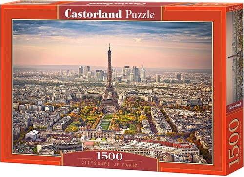 Cityscape of Paris Puzzel (1500 stukjes)