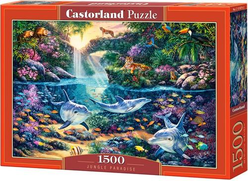 Jungle Paradise Puzzel (1500 stukjes)