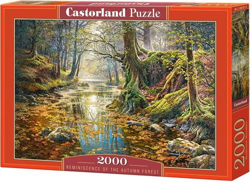 Reminiscence of the Autumn Forest Puzzel (2000 stukjes)