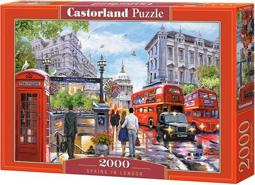 Spring in London Puzzel (2000 stukjes)