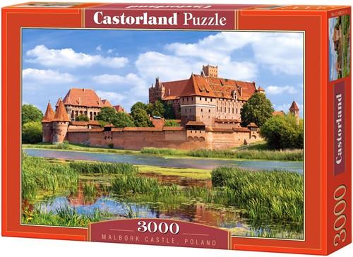 Malbork Castle, Poland Puzzel (3000 stukjes)