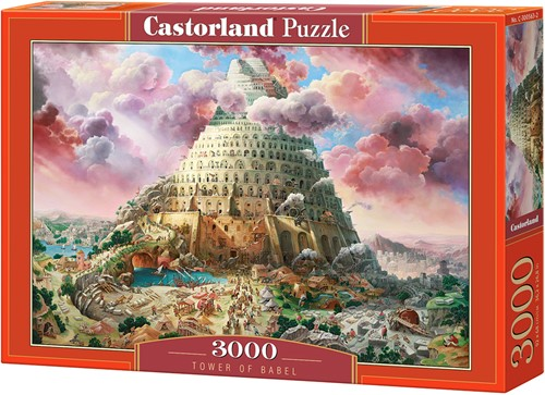 Tower of Babel Puzzel (3000 stukjes)