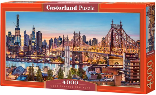 Good Evening New York Puzzel (4000 stukjes)