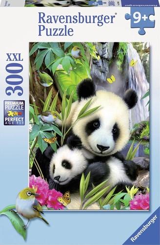 Lieve Panda Puzzel (300 XXL stukjes)
