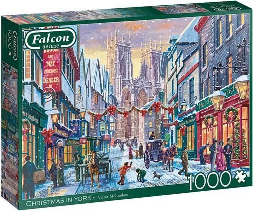 Falcon - Christmas in York Puzzel (1000 stukjes)