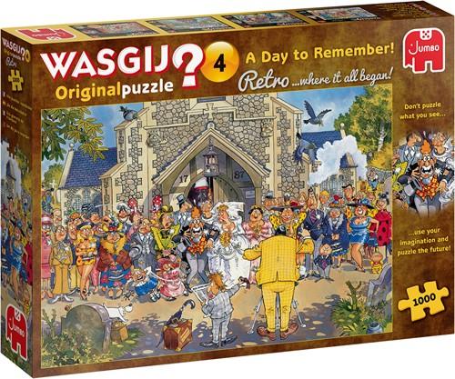 Wasgij Retro Original 4 Puzzel (1000 stukjes)