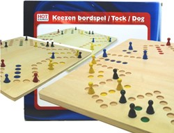 HOT - Keezen Bordspel 4-6 Personen Hout