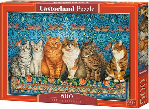 Cat Aristocracy Puzzel (500 stukjes)