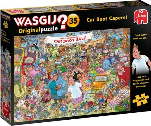 Wasgij Original 35 - Vlooienmarkt Vondsten! Puzzel (1000 stukjes)