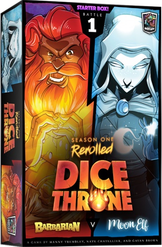 Dice Throne S1 ReRolled - Barbarian vs Moon Elf