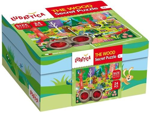 Het Bos - Secret Puzzel (24 stukjes)