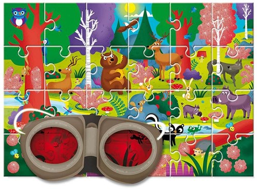 Het Bos - Secret Puzzel (24 stukjes)-2