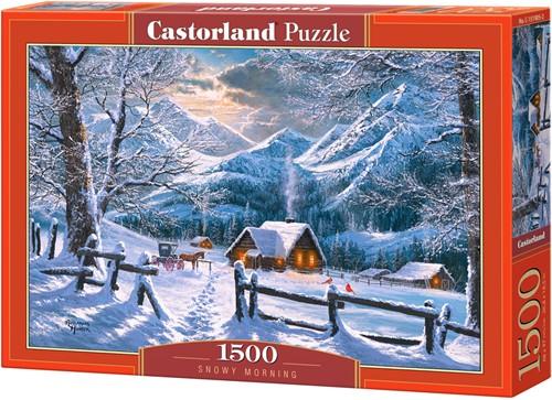 Snowy Morning Puzzel (1500 stukjes)
