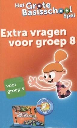 Het Grote Basisschoolspel - Extra vragen voor groep 8
