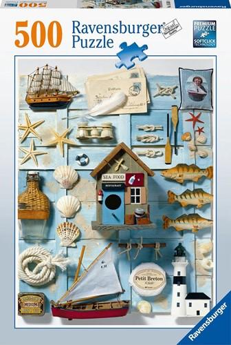 Maritimes Flair Puzzel (500 stukjes)