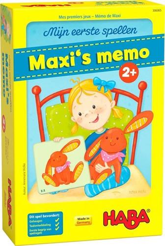 Mijn Eerste Spellen - Maxi's Memo