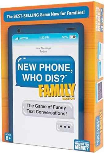 New Phone Who Dis? - Family Edition (Doos beschadigd)