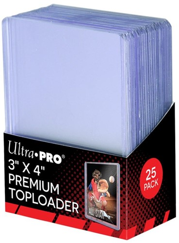 Toploaders Clear Premium Sleeves