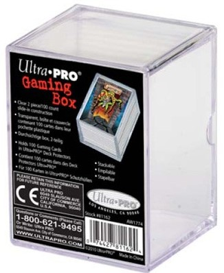 Cardbox Perspex 100 Cards