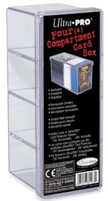 Cardbox Perspex Clear 240 Cards
