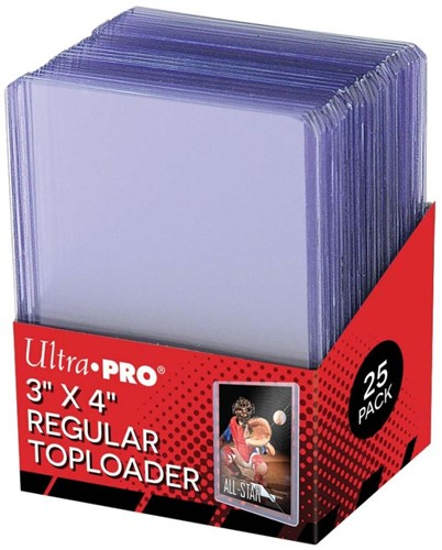 Toploaders Clear Regular (25 stuks)