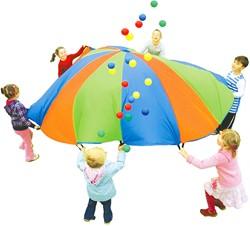 Regenboog Parachute (Met 24 Ballen)