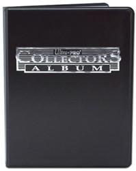 9-Pocket Portfolio Collectors Black